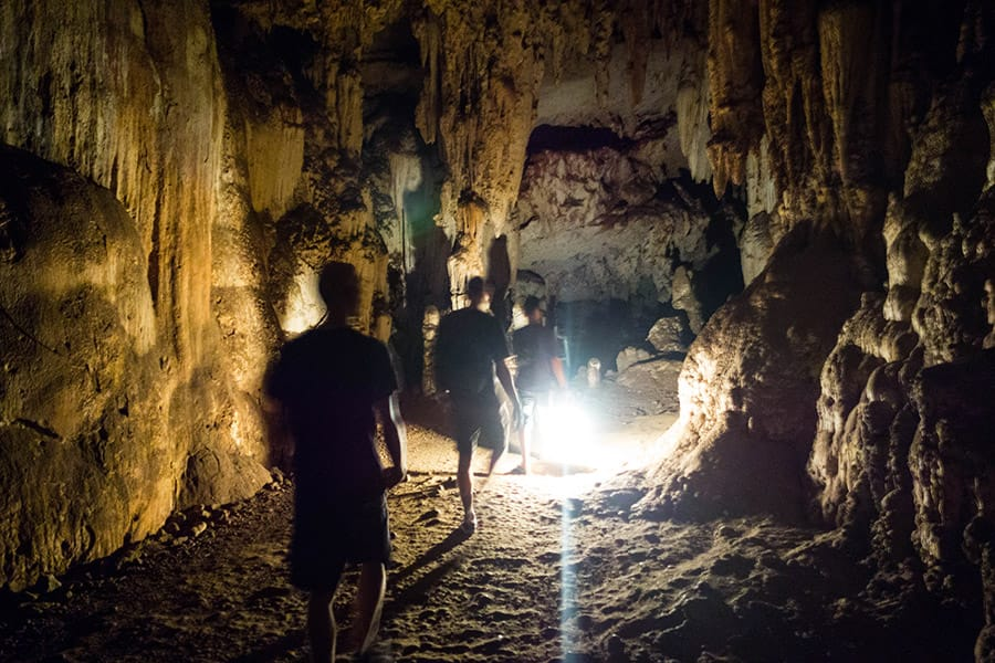 Tham Lot Cave in Pai Thaiand