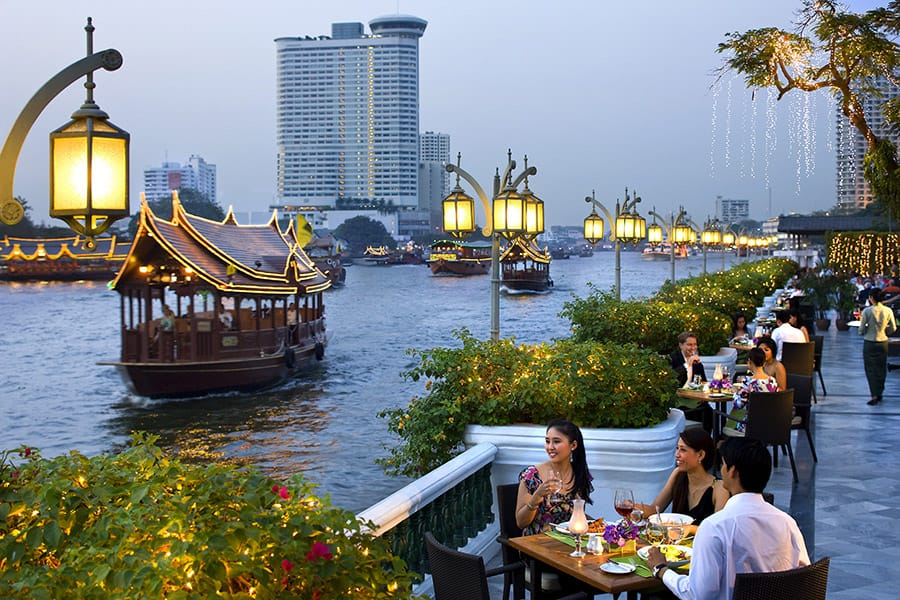 riverside restaurant in bangkok