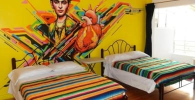 Best Hostels in Mexico City Featured Image