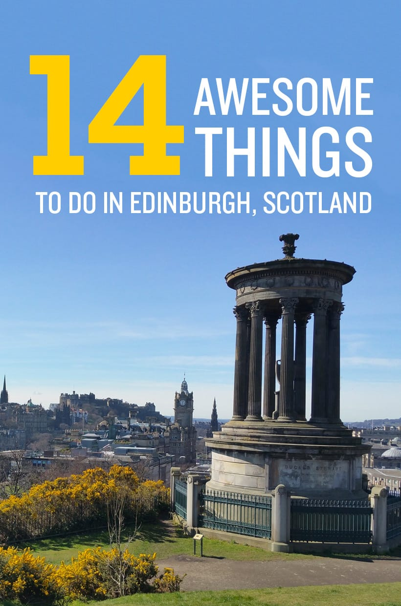 Discover the best things to do in Edinburgh Scotland!