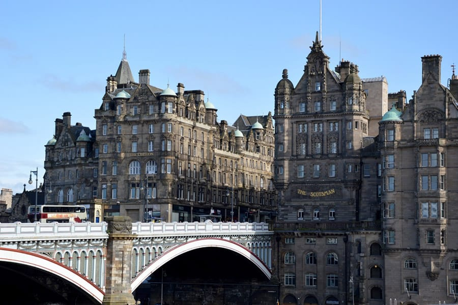 North Bridge in Edinburgh