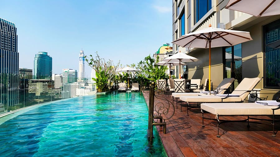 Pool at Hotel Muse Bangkok