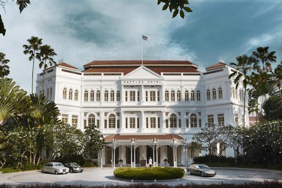 Raffles Hotel in Singapore. Image Credit: © Raffles Hotel Singapore