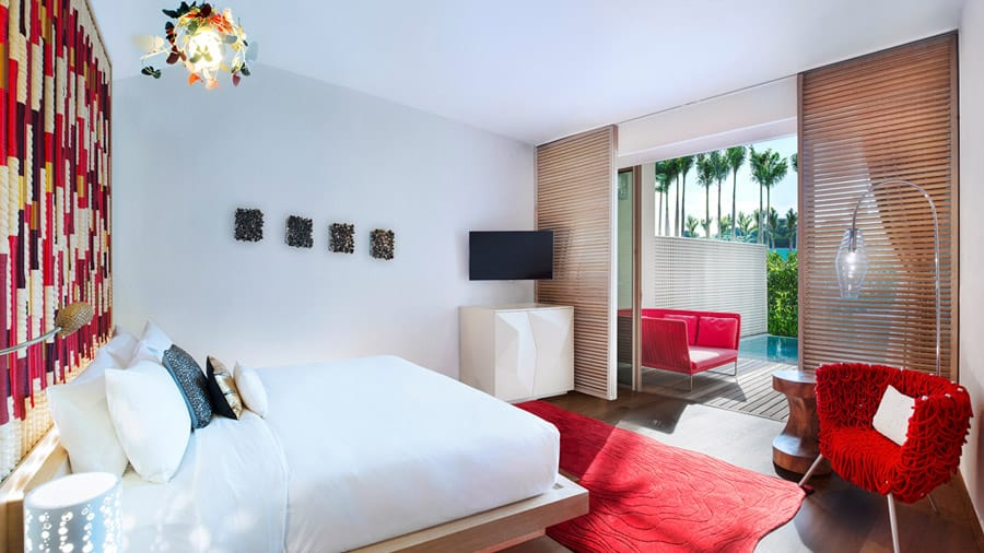 Away Room at W Singapore. Image Credit: © W Singapore