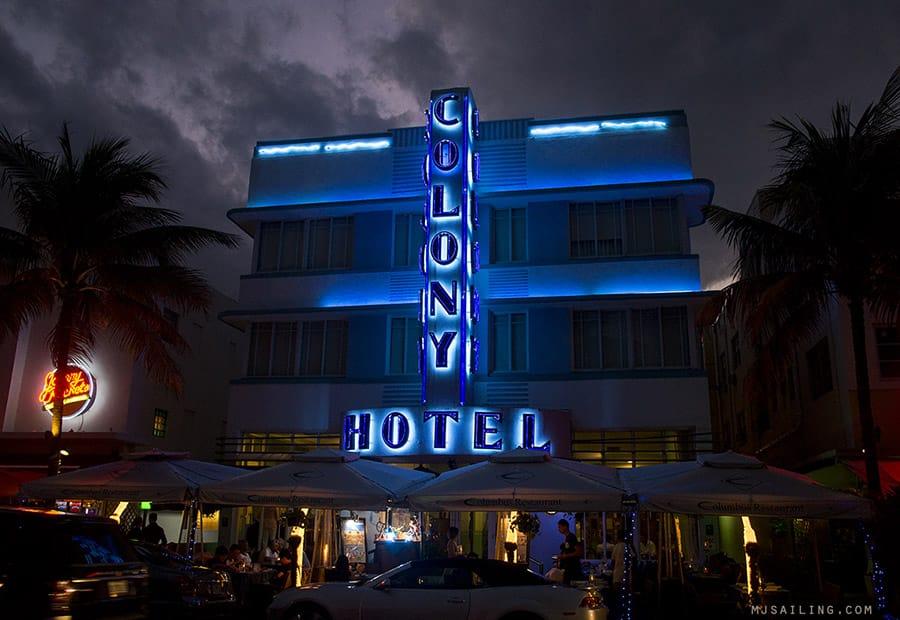 Colony Hotel in Miami