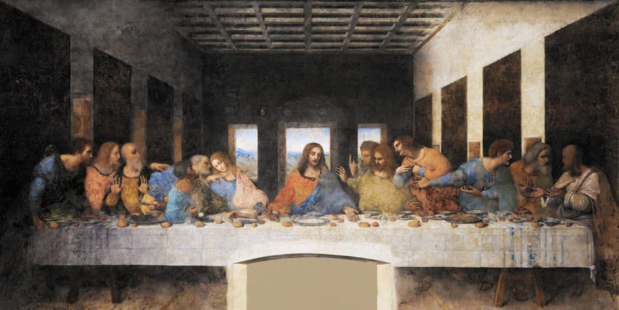 The Last Supper in Milan Italy