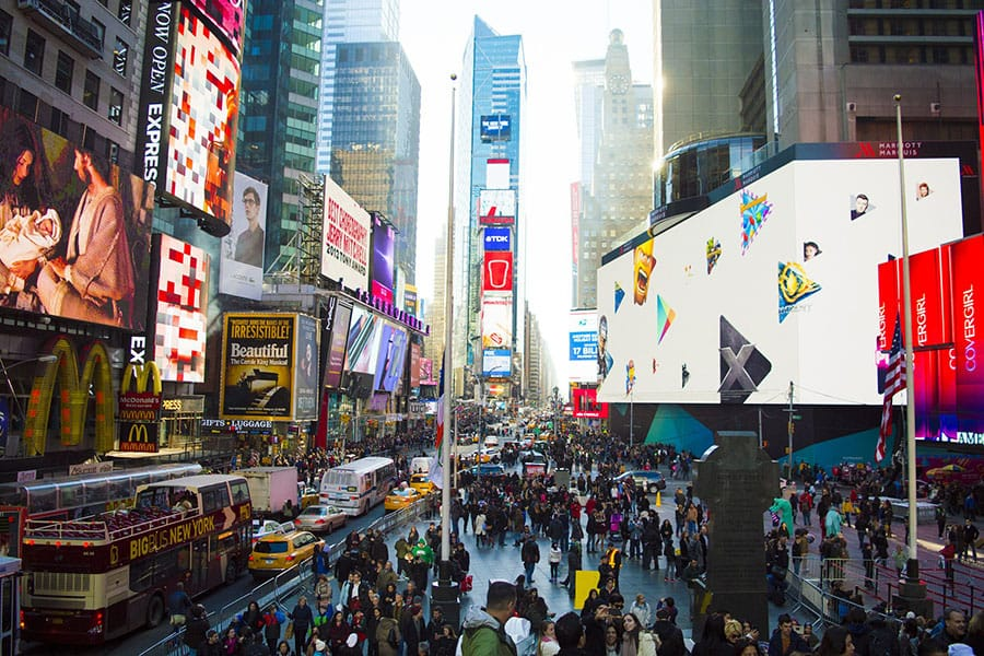 Restaurants And Bars Off Times Square