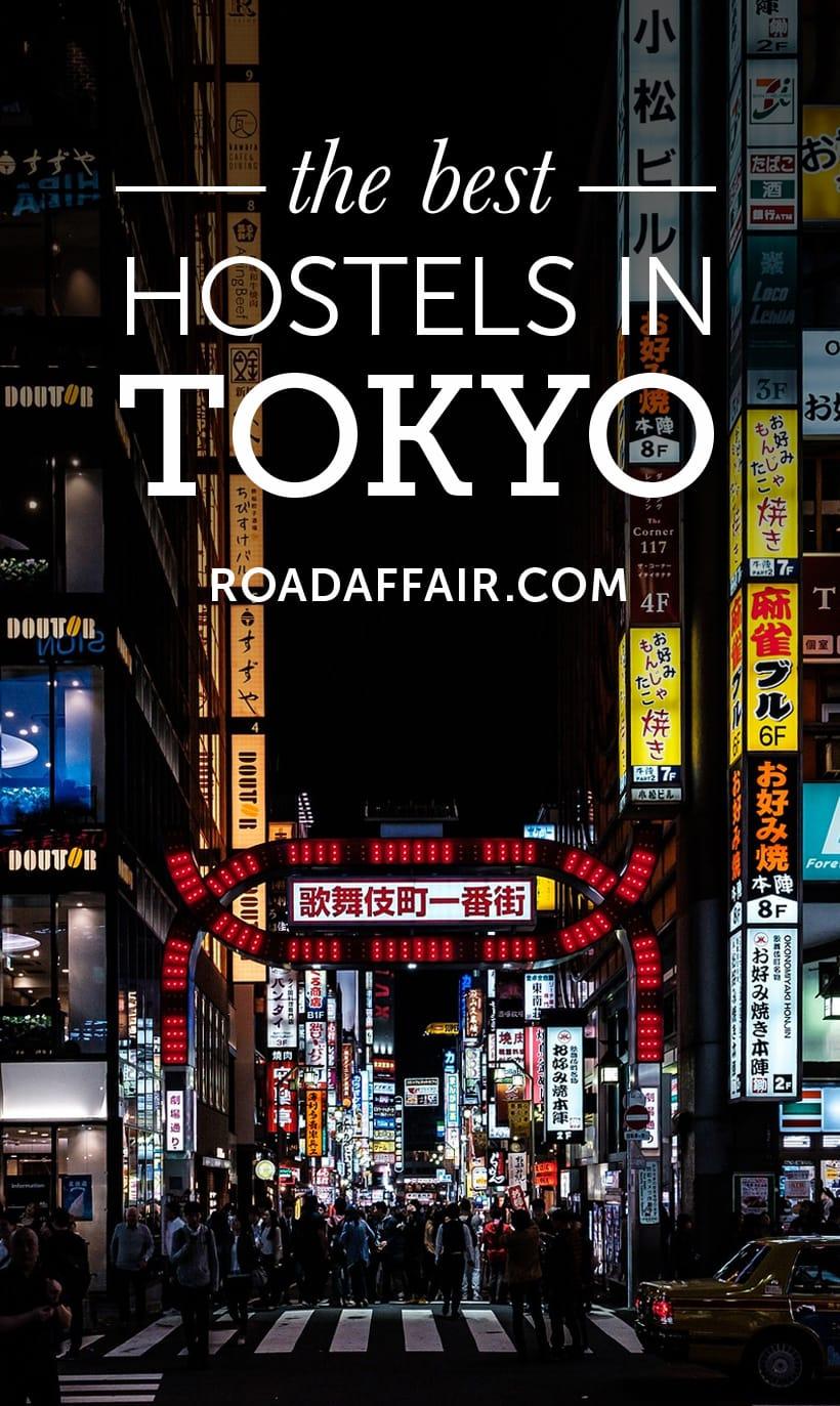 Best Hostels in Tokyo, Japan