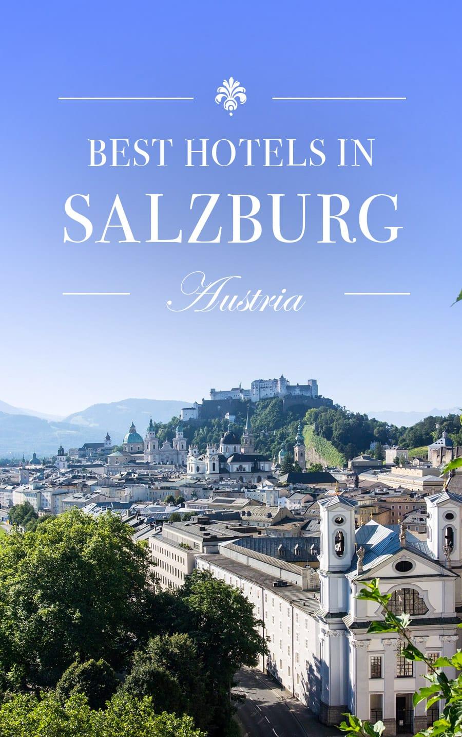 Best Hotels in Salzburg, Austria