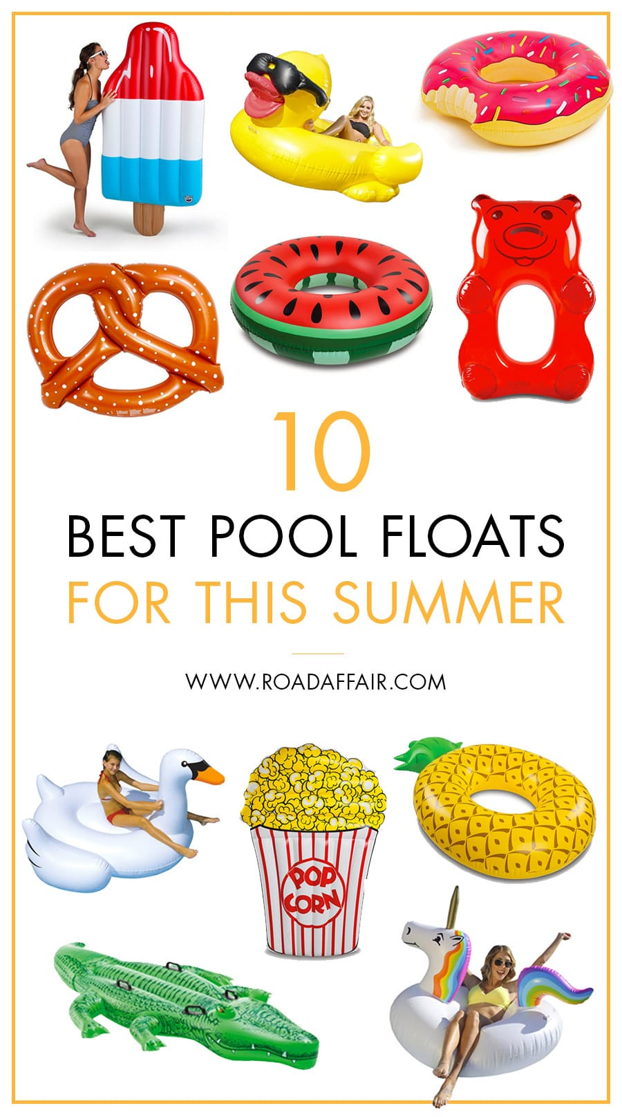 Best Pool Floats to Travel with this Summer
