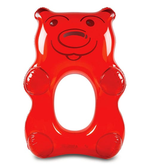 BigMouth Inc Giant Red Gummy Bear Pool Float