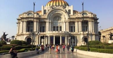 Palacio de Bella Artes in Mexico City