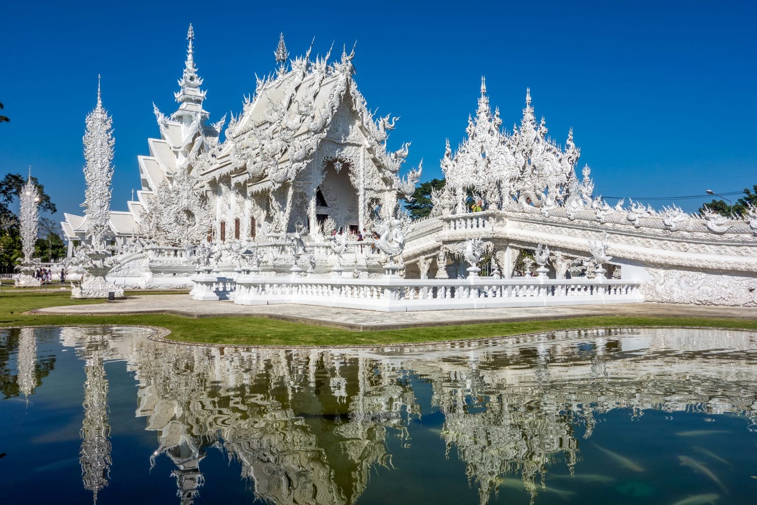 White Temple in Chiang Rai, Thailand