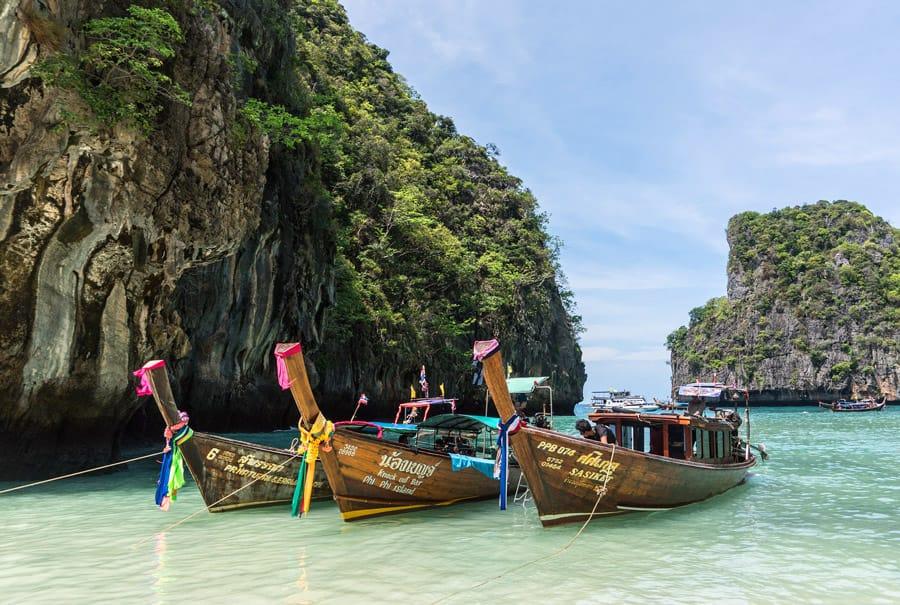 Ko Phi Phi in Thailand
