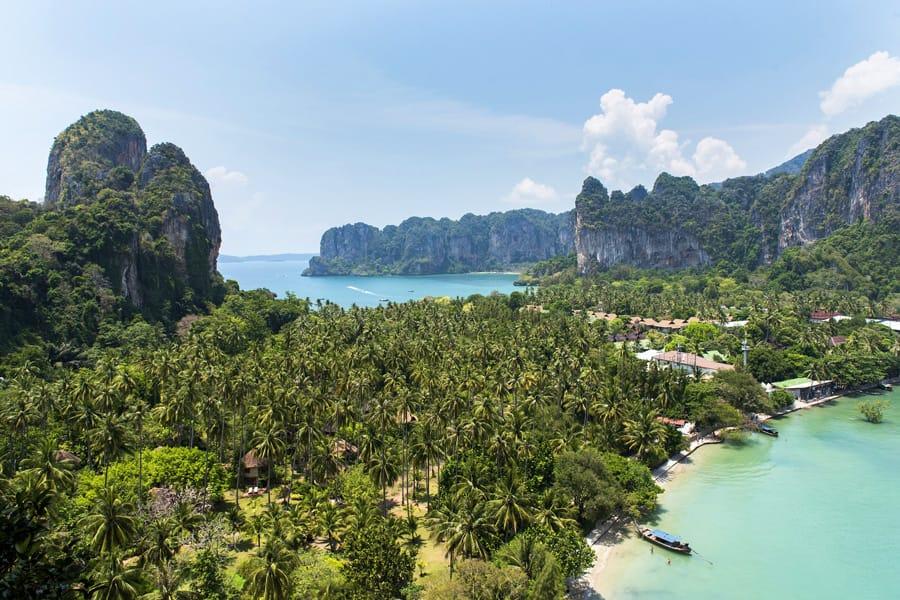 Railay Bay in Thailand