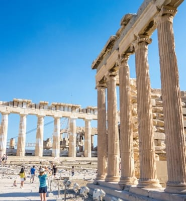 Acropolis of Athens, one of the best things to do in Athens.