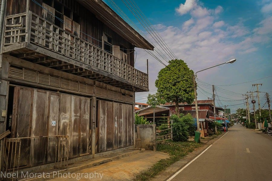 Chiang Khan in Thailand