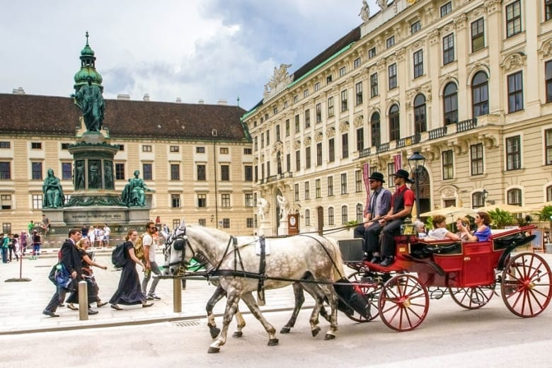 Horse-Drawn Carriage in Vienna