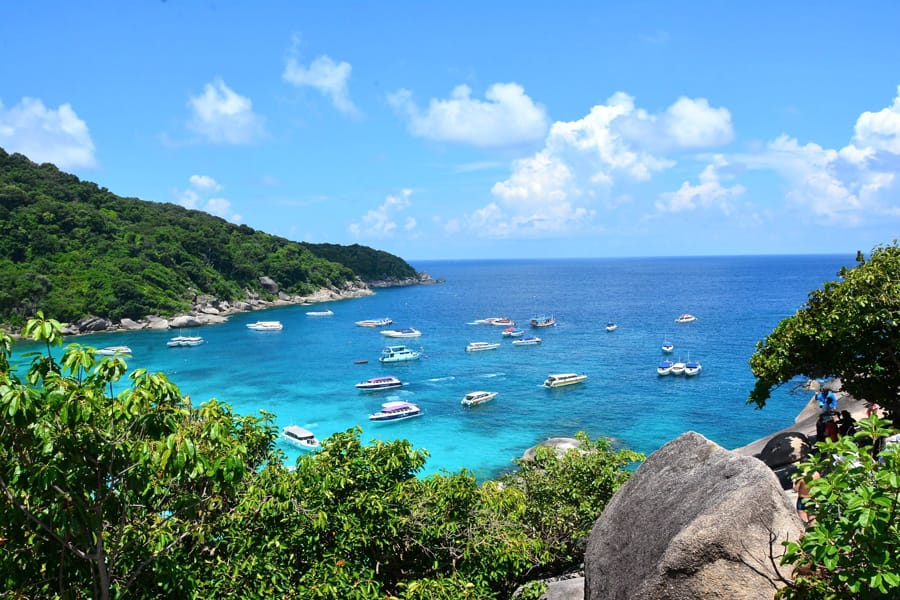 Similan Islands in Thailand