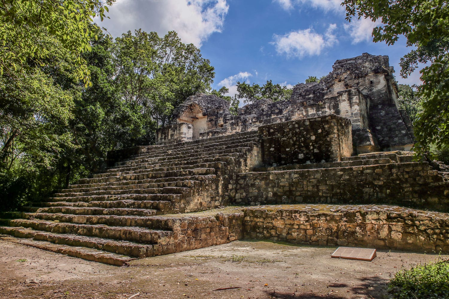 Calakmul Ruins in Mexico