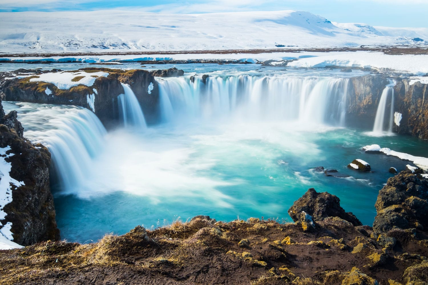 Godafoss,the one of the most spectacular waterfalls in Iceland.