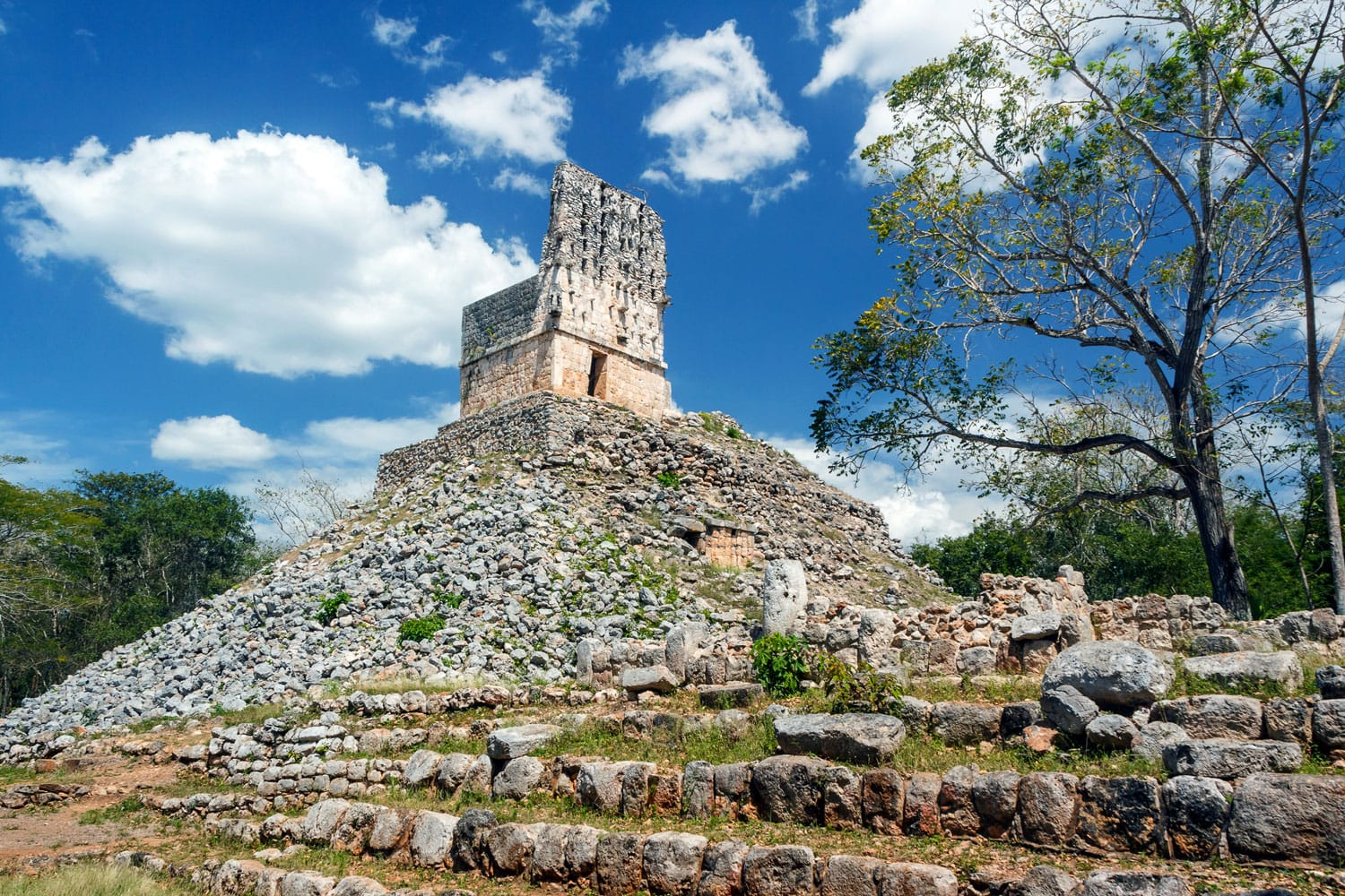 Ruins of the ancient Mayan city of Labna, Mexico