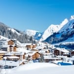 Village in Lech am Arlberg, Austria