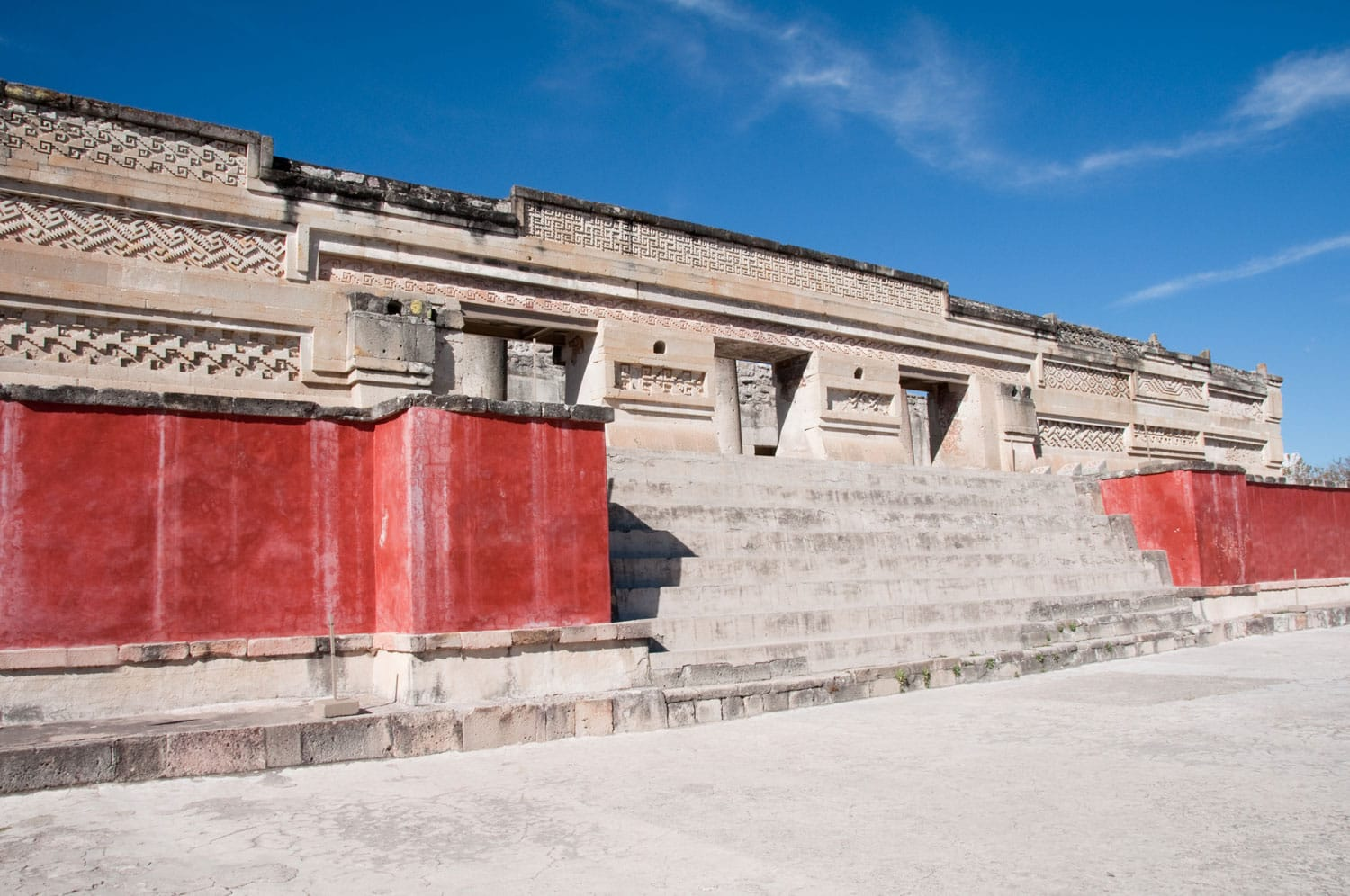 Archaeological site of Mitla, Oaxaca (Mexico)