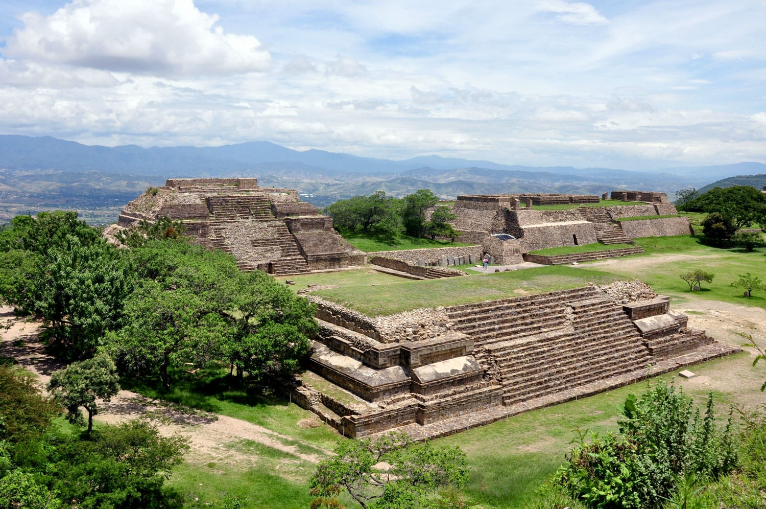 Monte Alban Site in Oaxaca, Mexico