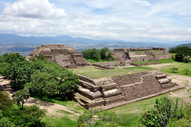 Monte Alban Site in Oaxaca, Mexico
