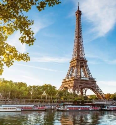 Eiffel tower in Paris. France.