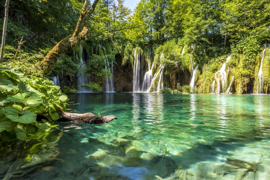 Plitvice Lakes in Croatia