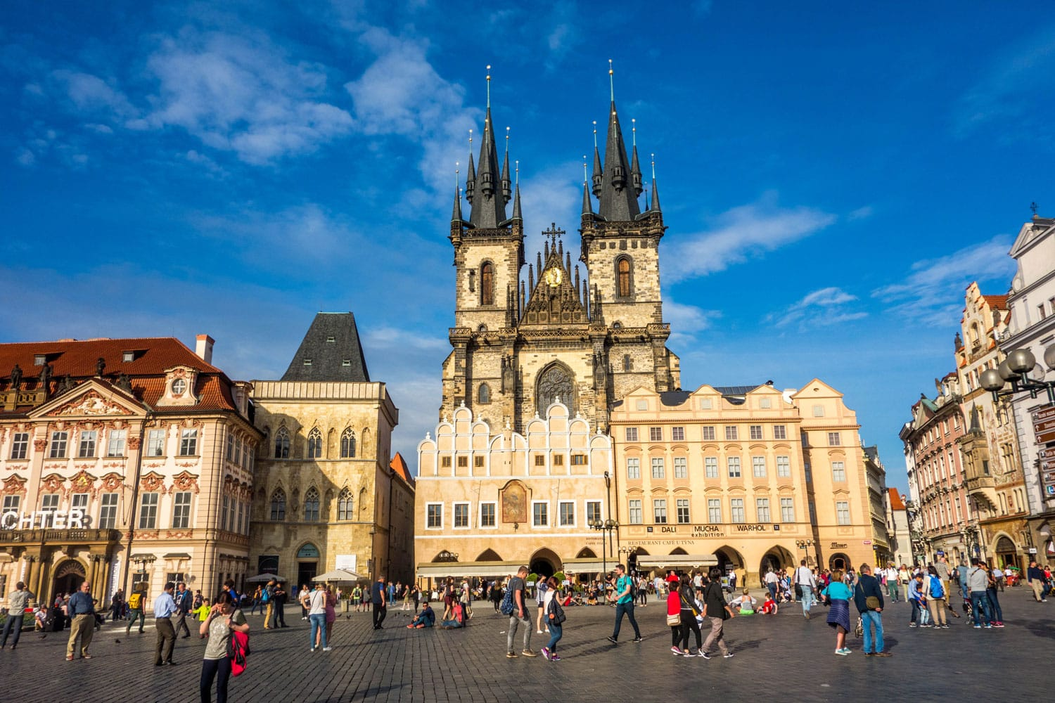 100 best places to visit in europe road affair for Prague square