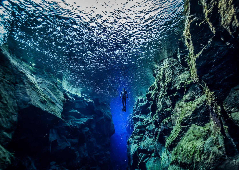 Silfra in Iceland