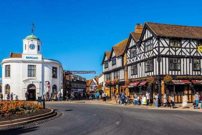 Stratford Upon Avon in the UK
