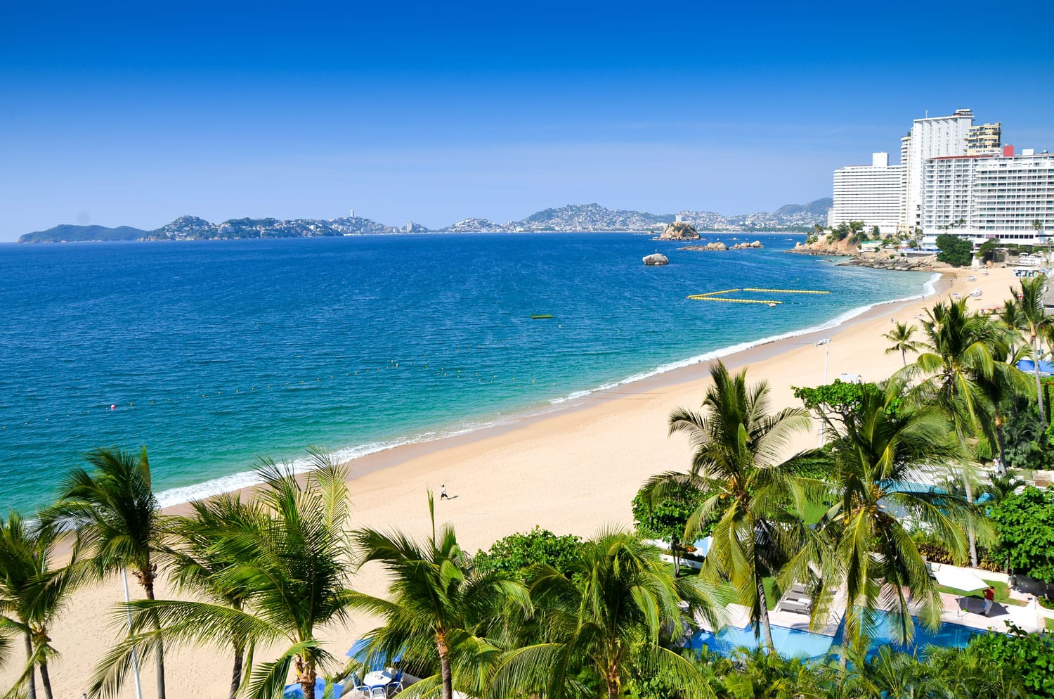 Acapulco Beach in Mexico