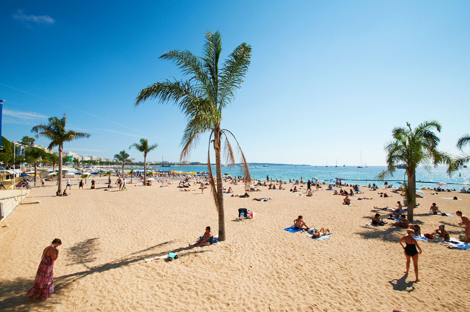 Barcelona Beach in Spain