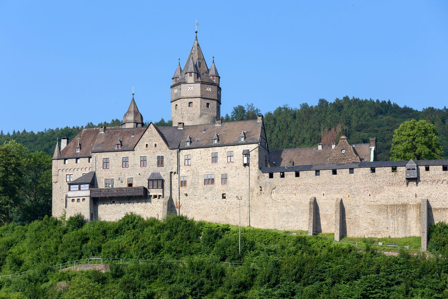 Castle Altena Sauerland Germany
