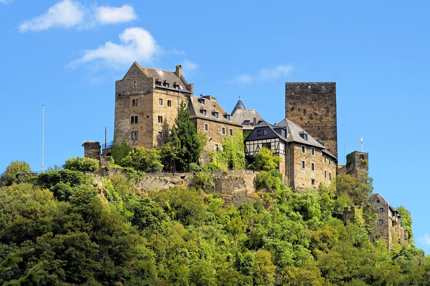 Castle Schoenburg Oberwesel, Germany