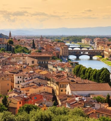 Beautiful cityscape skyline of Firenze (Florence), Italy