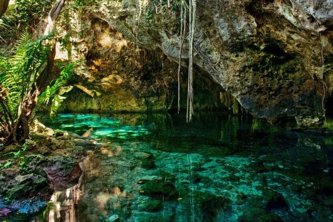 The Gran Cenote in Mexico