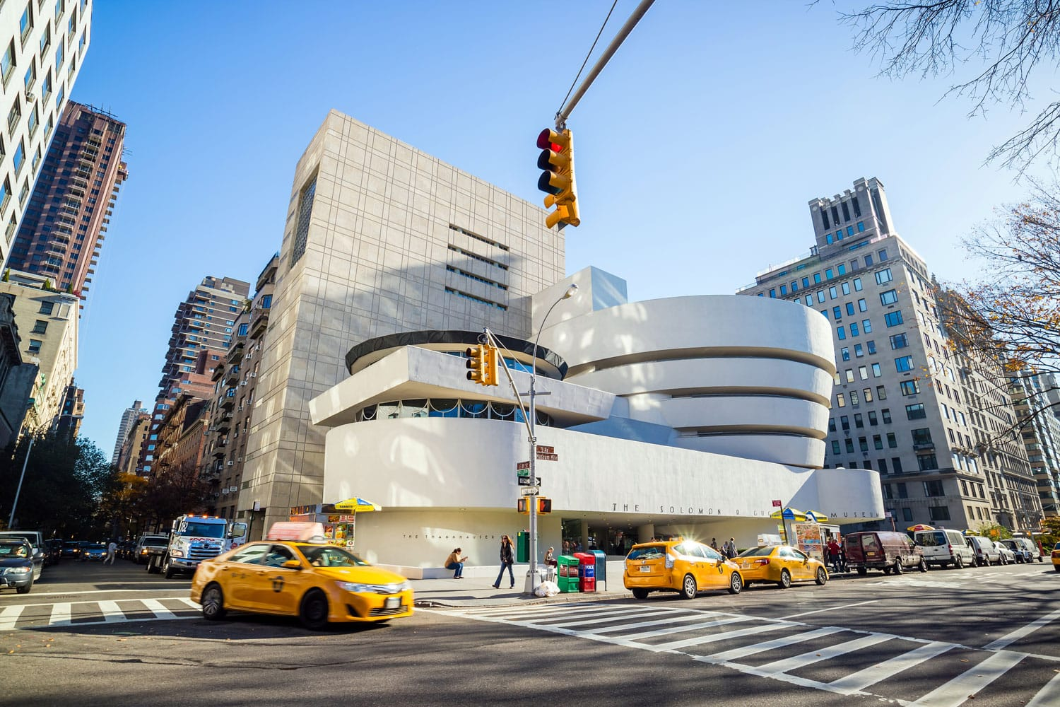 The Solomon R. Guggenheim Museum of modern and contemporary art in New York City