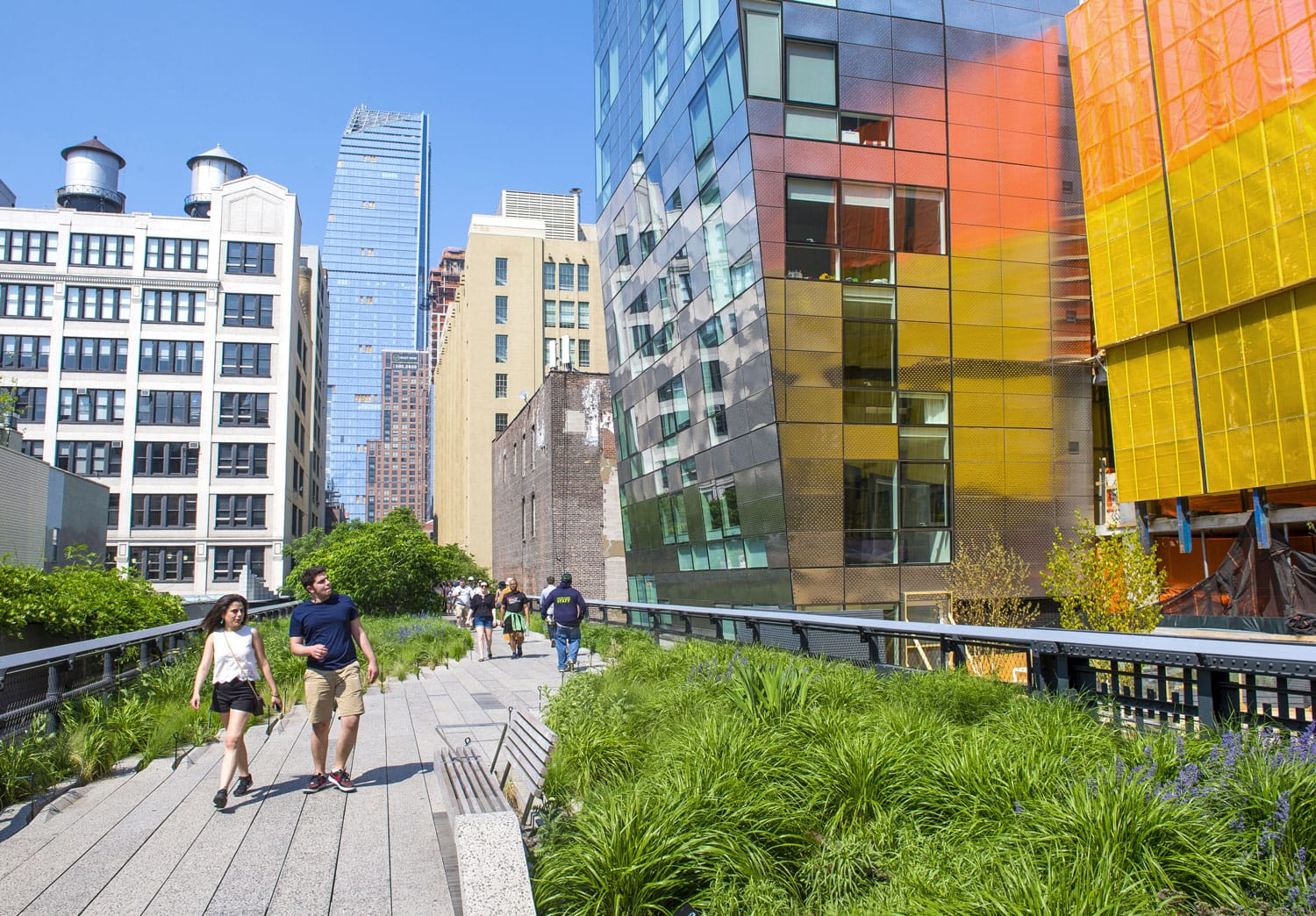 The High Line Park in NYC