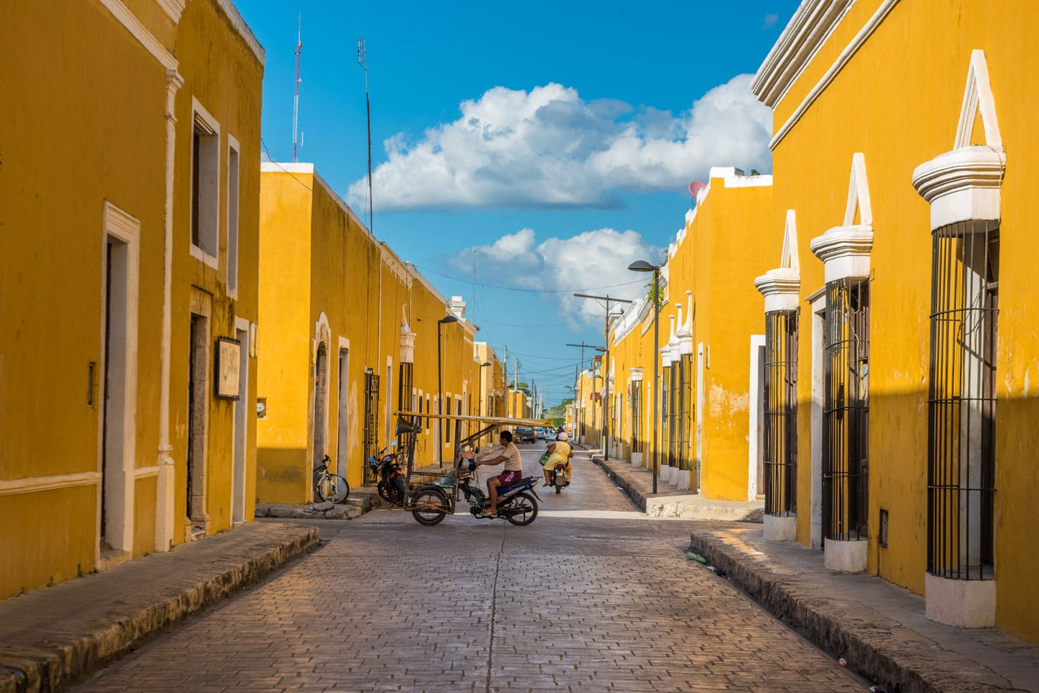 Izamal The Yellow Colonial City Of Yucatan Mexico