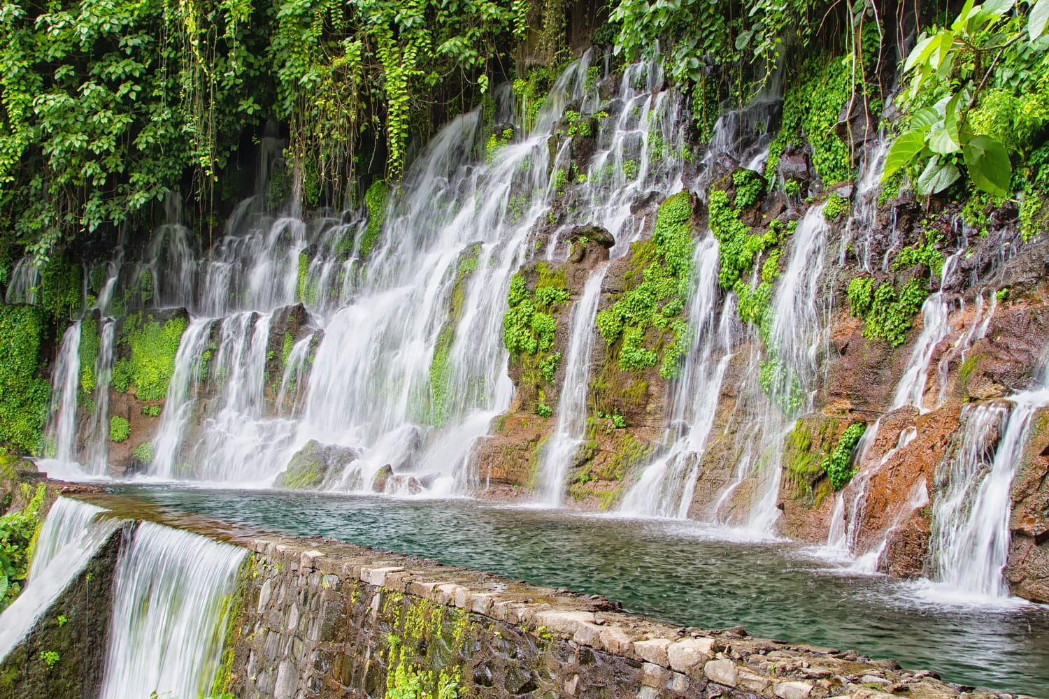 Pulhapanzak waterfall, Honduras, Central America