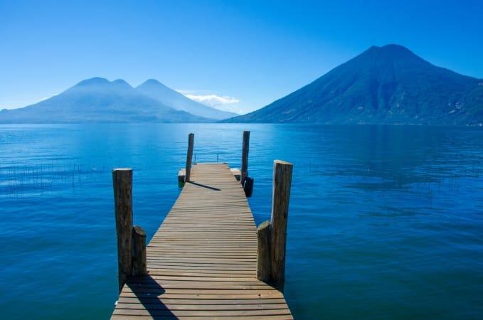Pier at Lake Atitlan, Guatemala
