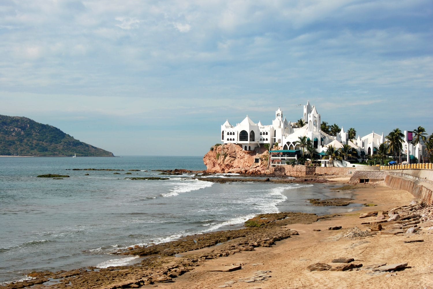 Mazatlan Mexico Malecon Coastline