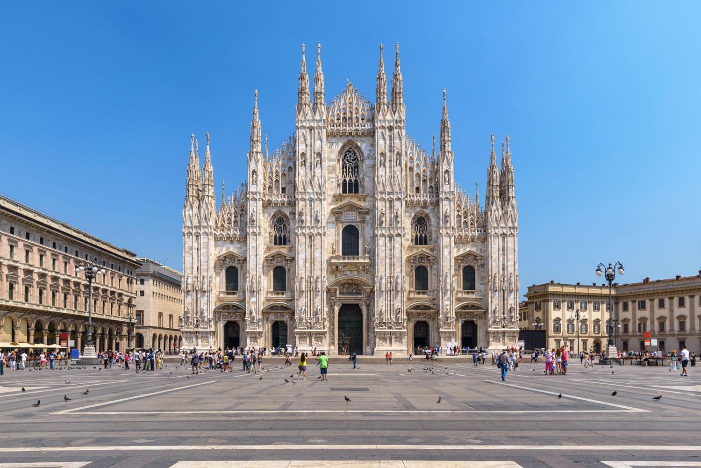 Milan Duomo in Milan, Italy