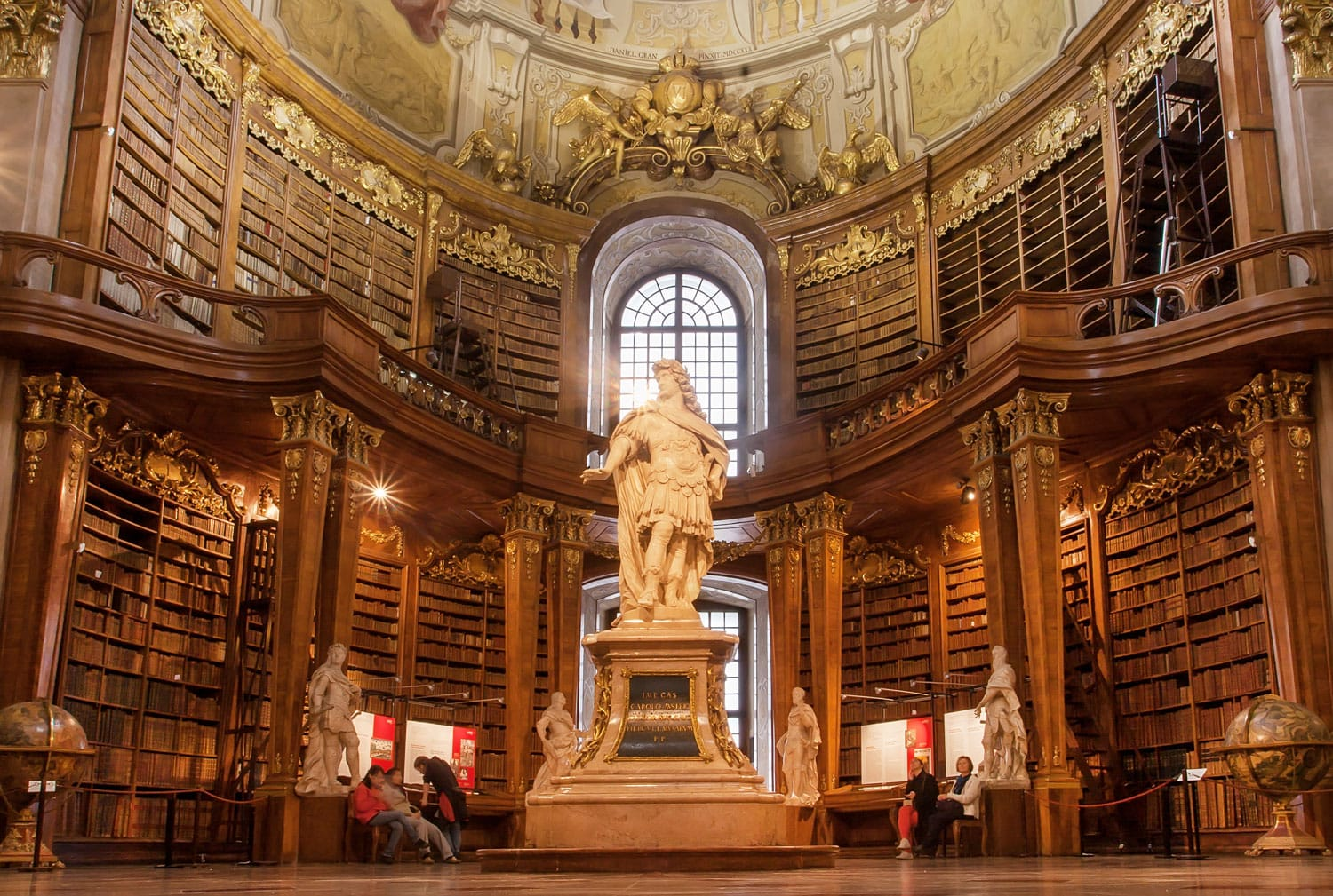 Austrian National Library in Vienna, Austria