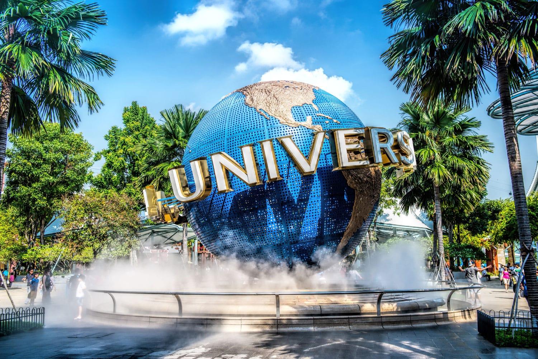Universal Studios Singapore sign